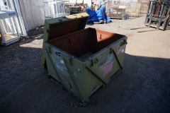 Large Military Metal Shipping and Storage Container